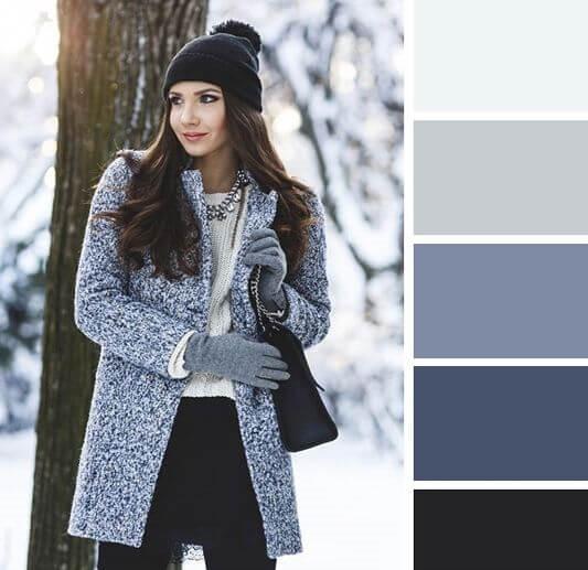 imagen personal. colores neutros